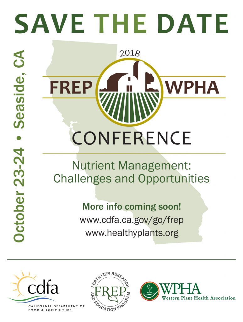 FREP/WPHA Conference, Oct 23-24, 2018
